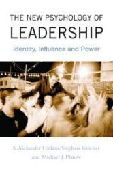 Recently published: The New Psychology of Leadership